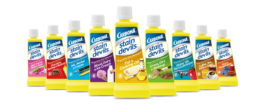 Stain Devils Carbona Cleaning Products